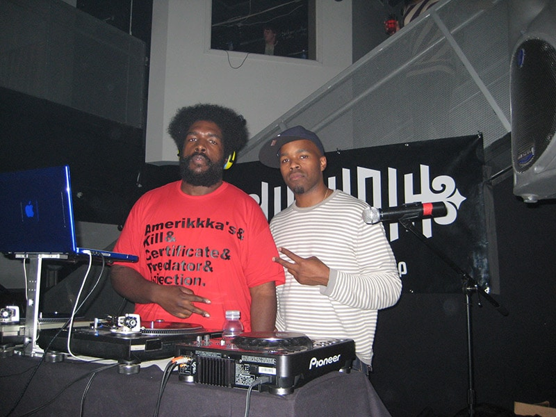 DJ Graffiti and Questlove of the Roots